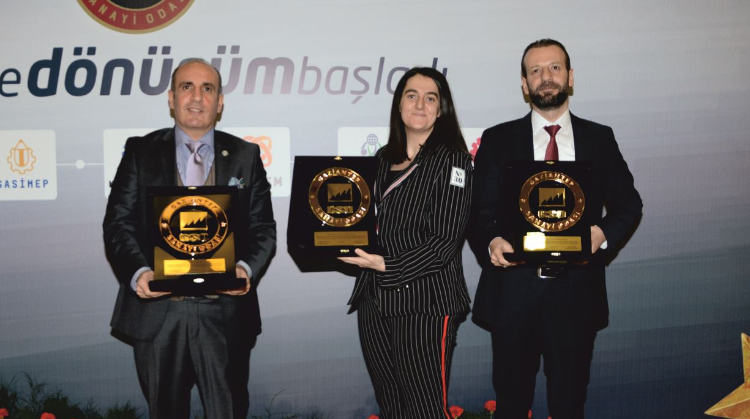 3 AWARDS TO BEŞLER GROUP