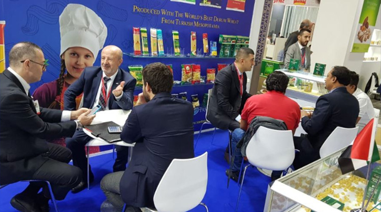 BEŞLER GROUP ATTENDED GULFOOD FAIR