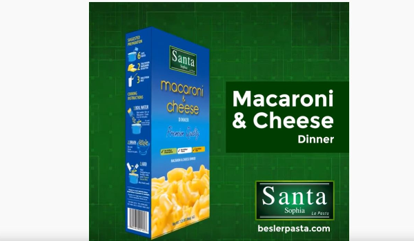 Santa Sophia Macaroni&Cheese